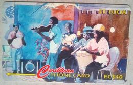 21CSLC People Of St Lucia  EC$40 - Sainte Lucie