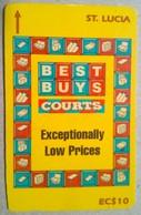 126CSLB Courts EC$10 - Sainte Lucie