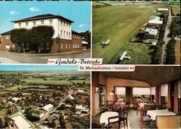 ! Moderne Ansichtskarte St. Michaelisdonn, Flugplatz, Schleswig-Holstein - Aerodrome