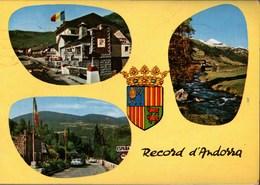 ! 1972 Ansichtskarte Andorra, Grenze, Frontiere - Andorra
