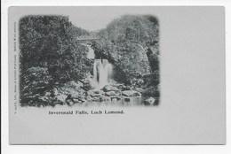 Inversnaid Falls,  Loch Lomond - Undivided Back - Stirlingshire