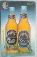 10CSLA Piton Beer EC$10 - Saint Lucia