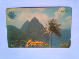 16CSLC  Mountains EC$40 - Saint Lucia