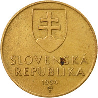 Monnaie, Slovaquie, Koruna, 1994, TB+, Bronze Plated Steel, KM:12 - Slovaquie