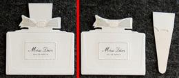 Carte Parfumée De L'eau De Parfum Miss D. - Cartes Parfumées
