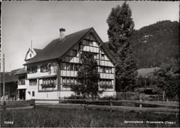 ! S/w Ansichtskarte Spreitenbach Brunnadern, Gasthaus Löwen, Pension, Schweiz - SG St. Gallen