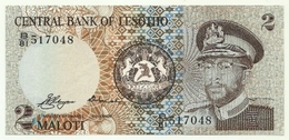Lesotho - 2 Maloti 1981- - Lesoto