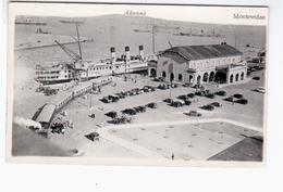 URUGUAY Montevideo Aduana Puerto Harbour 1946 OLD PHOTO POSTCARD 2 Scans - Uruguay