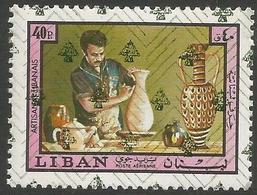 Lebanon - 1978 Potter O/print 40pi  MNH **    Mi 1266  Sc C770 - Lebanon