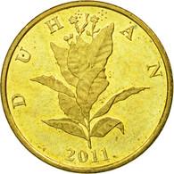 Monnaie, Croatie, 10 Lipa, 2011, TTB+, Brass Plated Steel, KM:6 - Croatie
