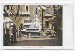 Malta - The Fountain In Strada Reale - Undivided Back - Malta