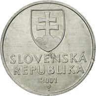 Monnaie, Slovaquie, 20 Halierov, 2001, TTB, Aluminium, KM:18 - Slovaquie