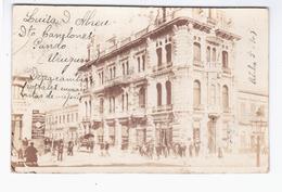 URUGUAY Montevideo ? 1903 OLD PHOTO POSTCARD 2 Scans - Uruguay