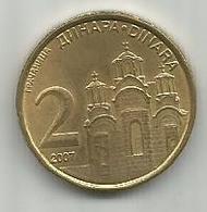Serbia 2 Dinara 2007. - Serbie