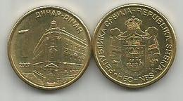 Serbia 1 Dinar  2007. - Serbie