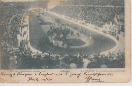 GRECE Carte Postale  JEUX OLYMPIQUES D' ATHENES 1896 (10 ème Anniversaire De La Rénovation Des JO  ) - Sommer 1896: Athen