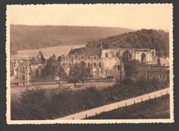 Thuin - Abbaye D'Aulne - Vue Générale Des Ruines Prise Du Chemin Venant De Thuin - Thuin