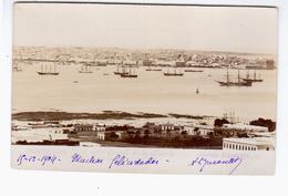 URUGUAY Montevideo Vista General Desde El Cerro Garese Ituzango 126,  1904 OLD REAL PHOTO 2 Scans - Uruguay