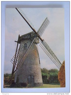Chromo Timbre Tintin Kuifje's Bon Geographie De Belgique 17 Le Moulin De Lisseweghe De Molen Van Lisseweghe - Kaufmanns- Und Zigarettenbilder