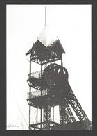 Bois-du-Luc - Châssis à Molettes De Saint-Emmanuel - Industrie / Industry - Carte Moderne - La Louvière