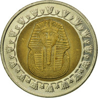 Monnaie, Égypte, Pound, 2008, Cairo, TB+, Bi-Metallic, KM:940a - Egypt