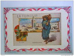 Chromo La Tunisie Bédouine Olivier Tunis Librairie Hachette Paris - Andere