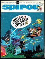 "SPIROU N° 1598 -  Année 1968 - Couverture "" FOUFI "" De KIKO. - Spirou Magazine"