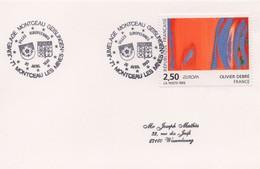 JU43  Jumelage - Partnerschaft - Twin Cities - Montceau Les Mines / Geislingen  TTB - European Ideas