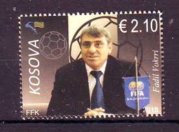 Kosovo 2018 Y Personalities Sport Football Fadil Vokrri MNH - Kosovo