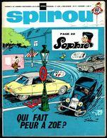 "SPIROU N° 1596 -  Année 1968 - Couverture "" SOPHIE "" De JIDéHEM. - Spirou Magazine"
