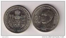 Serbia 20 Dinara 2009. UNC Commemorative Coin - Serbia