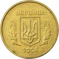 Monnaie, Ukraine, 10 Kopiyok, 2008, Kyiv, TTB, Aluminum-Bronze, KM:1.1b - Ukraine