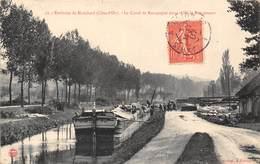 21- LE CANAL DE BOURGOGNE- ENT AISY ET ROUGEMONT- ENVIRONS DE MONTBARD VOIR PENICHE - France