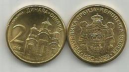 Serbia Serbie 2 Dinara  2009. KM#49  MAGNETIC - Serbie