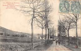 21-VISERNY- ENVIRONS DE MONTBARD- ENTREE DU VILLAGE DE VISERNY PAYS RONOMME POUR SES BONS VINS - France