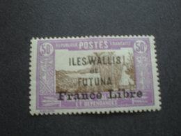 TIMBRE FRANCE LIBRE  N°106 WALLIS ET FUTUNA X - Wallis-Et-Futuna