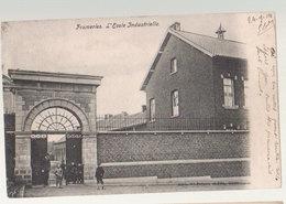 Cpa Frameries   1904   école - Frameries