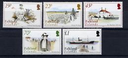 Falkland, 2004, Yvert 873/877, Scott 853/857, MNH - Falkland