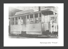 Verviers - Remorque Dite Friture - Photo 14 X 10 Cm - Tram / Tramway - Verviers