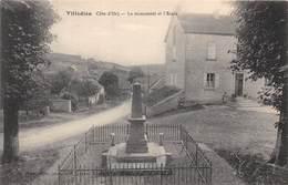 21-VILLEDIEU-LE MONUMENT ET L'ECOLE - France