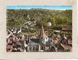 CPSM Dentelée - PLOMBIERES-les-DIJON (21) - Vue Aérienne Du Quartier De L'Eglise - Années 60 - Autres Communes