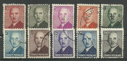 Turkey; 1948 London Printing Inonu Postage Stamps - 1921-... Republic