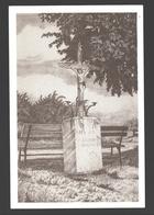 Dommartin - La Croix Hennecotte - Dessin à La Plume Ph. Collin - Ed. Dommartin Village Fleuri - Papier De Lin - Saint-Georges-sur-Meuse