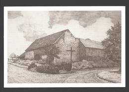 Dommartin - La Croix Du Manet - Dessin à La Plume Ph. Collin - Ed. Dommartin Village Fleuri - Papier De Lin - Saint-Georges-sur-Meuse