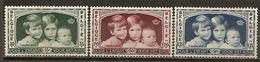 Belgique Belgium 1935 Royal Family Set Complete M * - Belgium