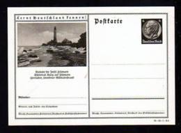 """6 Pf. Bild Ganzsache """"Leuchtturm Auf Insel Fehmarn"""" - Ungebraucht - Phares"""
