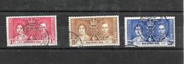 Bermuda KGVI 1937 Coronation, Complete Set Used (7018) - Bermuda