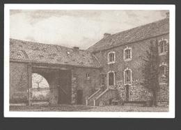 Dommartin - La Ferme Thiernesse - Dessin à La Plume Ph. Collin - Ed. Dommartin Village Fleuri - Papier De Lin - Saint-Georges-sur-Meuse