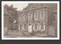 Dommartin - La Ferme Du Séminaire - Dessin à La Plume Ph. Collin - Ed. Dommartin Village Fleuri - Papier De Lin - Saint-Georges-sur-Meuse