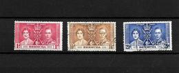 Bermuda KGVI 1937 Coronation, Complete Set Used (7021) - Bermuda